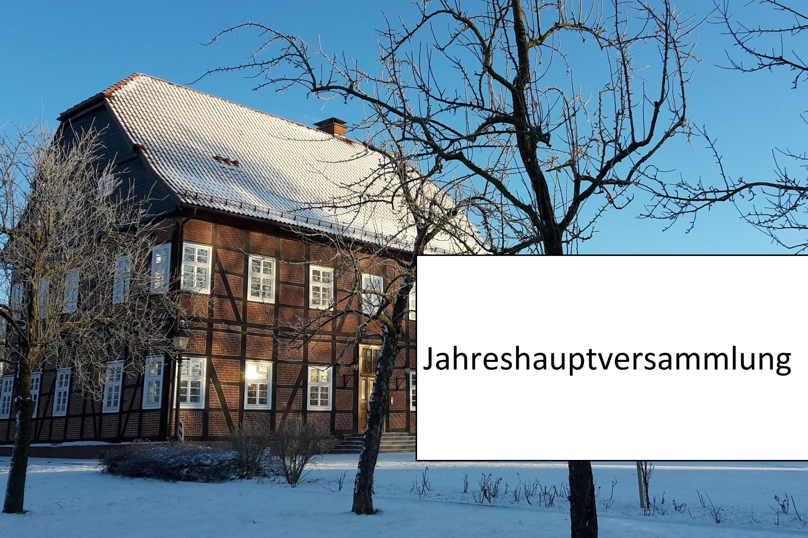 Einladung JHV 2019