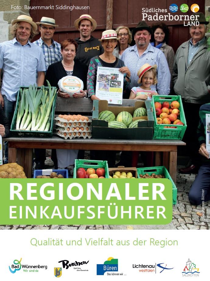 Regionaler Einkaufsführer Flyer